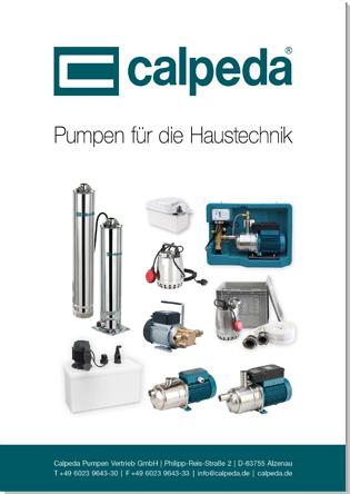 Pumpen für die Haustechnik