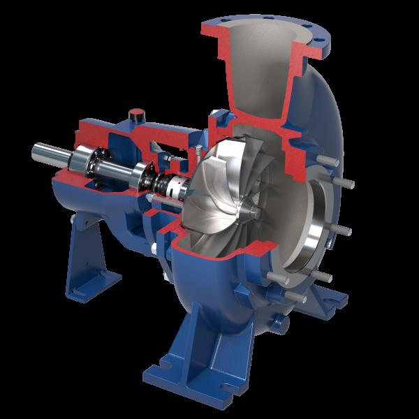 Kreiselpumpen mit Vortex Laufrad nach Norm ISO 2858-5199