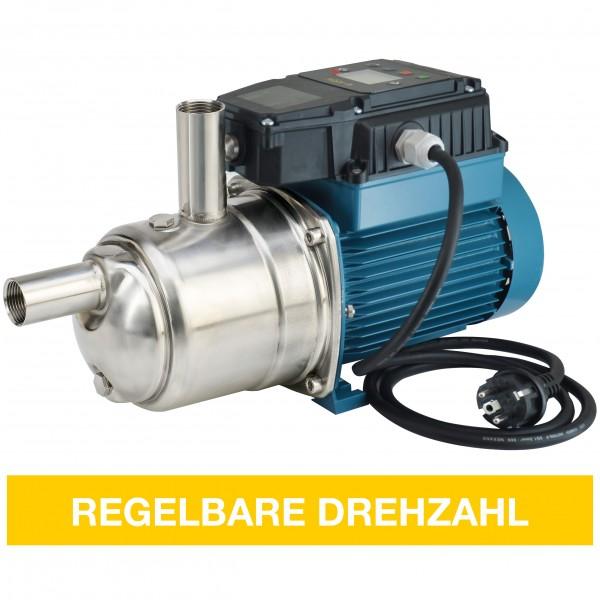 Drehzahlgeregelte Pumpenanlage mit integrierter Drucksteuerung (mehrstufig, selbstansaugend)