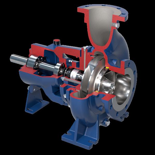 Kreiselpumpen mit geschlossenem Laufrad nach Norm ISO 2858-5199