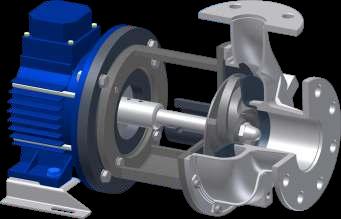 Kreiselpumpen mit offenem Laufrad nach Norm ISO 2858